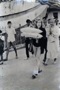 Roberta Marioni a Bali negli anni '70
