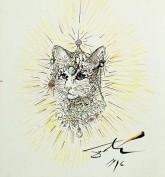 Cleo-catra by Salvador Dali