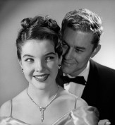 1950s 1960s Happy Couple Wearing Formal Evening Attire