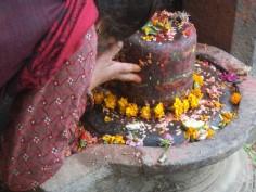 Nepal novembre 2014- woman in Bakthapur © Marta Farina