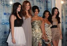 (L-R): Kyllie Jenner, Khloe Kardashian,