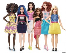 New Barbie body types and colors released