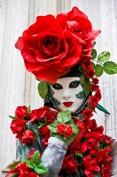Rose Mask, Venice, Carnival 2008.