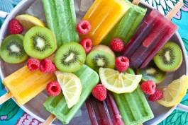 ghiaccioli frutta