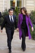 France's President Nicolas Sarkozy (L) a