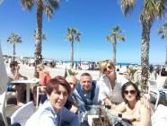 Maria Concetta con Marisa, Rino, Elio, Francesca