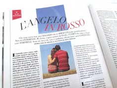 L'angelo in rosso