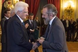 Quirinale: Mattarella consegna onorificenze Repubblica