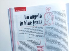 Un angelo in blue jeans