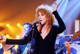Fiorella Mannoia. Singer. Milano 18-01-2007.